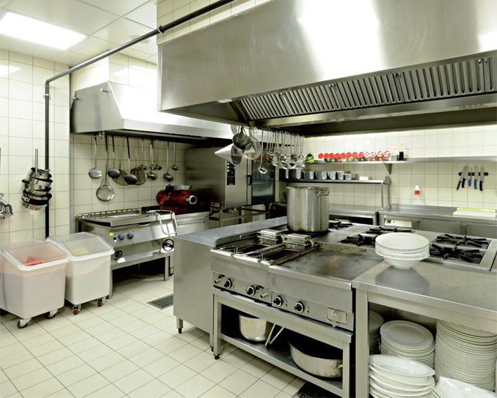 Instalacja elektryczna w kuchni gastronomicznej fachowy for Commercial kitchen setup ideas