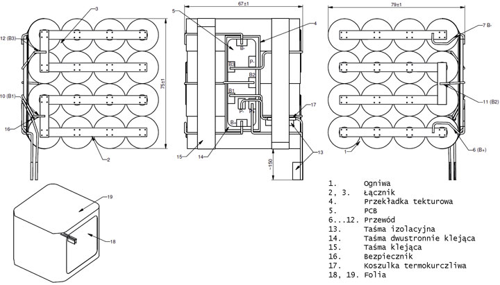 Индикатор Заряда Li Ion