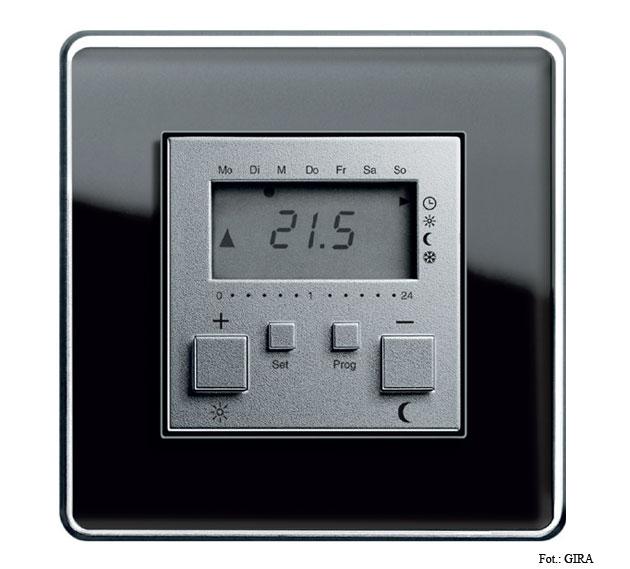 Fot. 3. Tam, gdzie brak instalacji między termostatem a grzejnikiem przyda się radiowy regulator temperatury z wbudowanym zegarem sterowniczym.