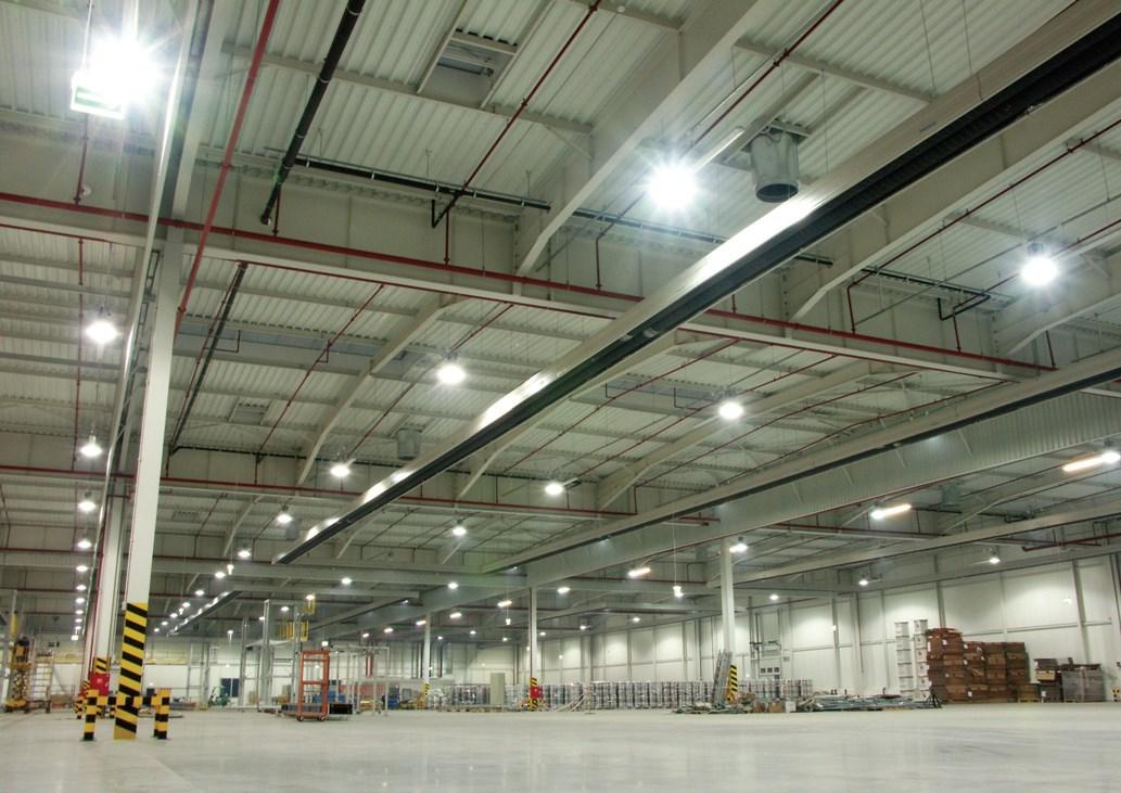 Oświetlenie Obiektów Przemysłowych Oprawy Led Do Zadań