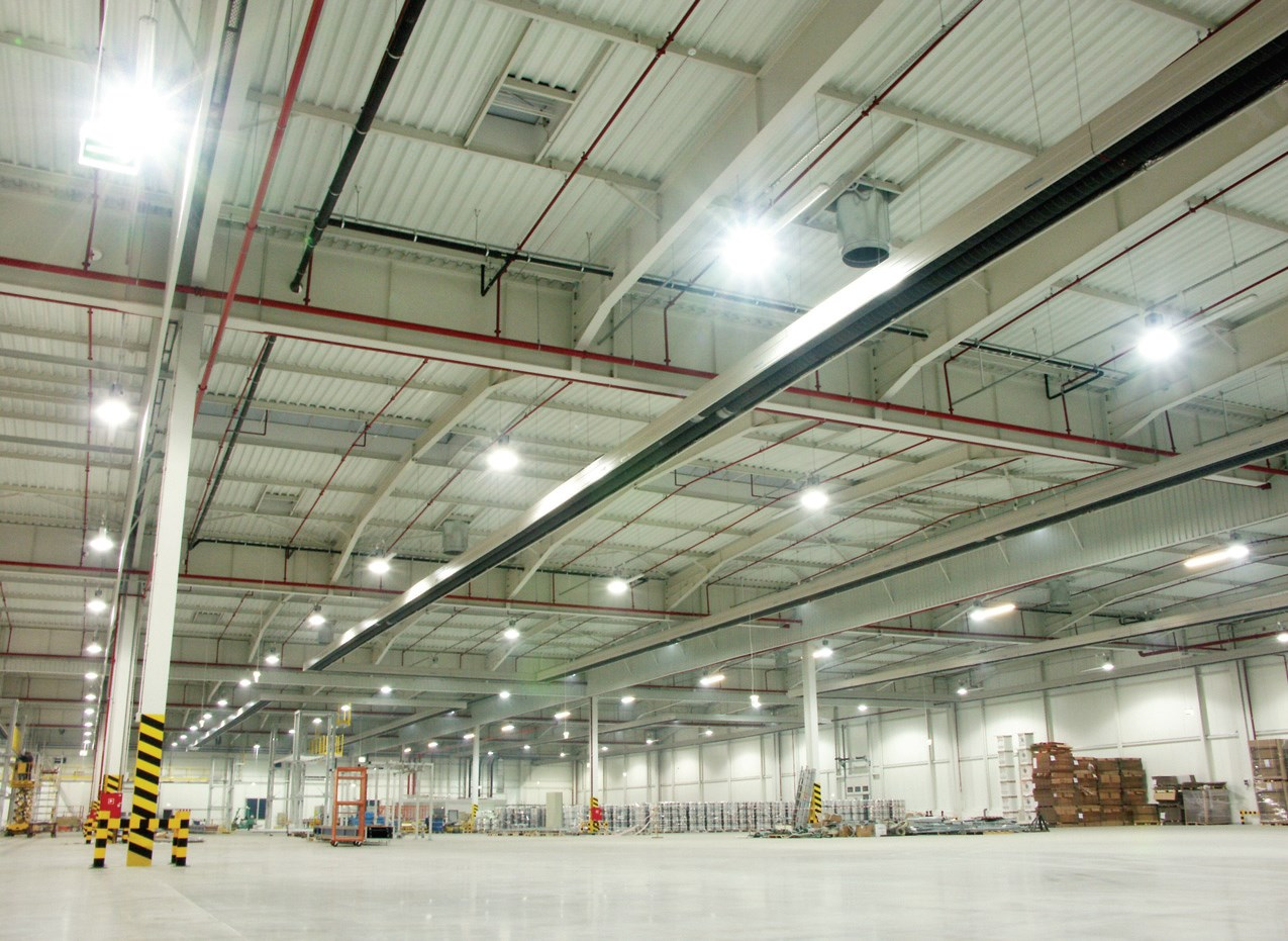 Oświetlenie Led W Halach I Magazynach Fachowy Elektryk