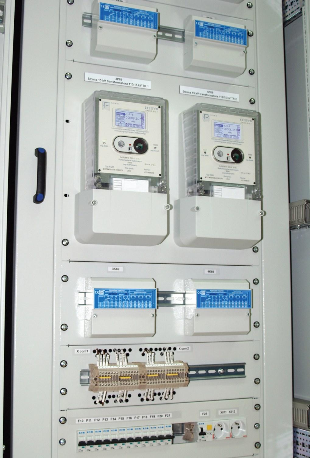 Рис.  11. Счетчики EQM в измерительной системе